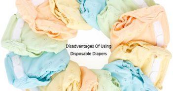 Disadvantages Disposable Diapers
