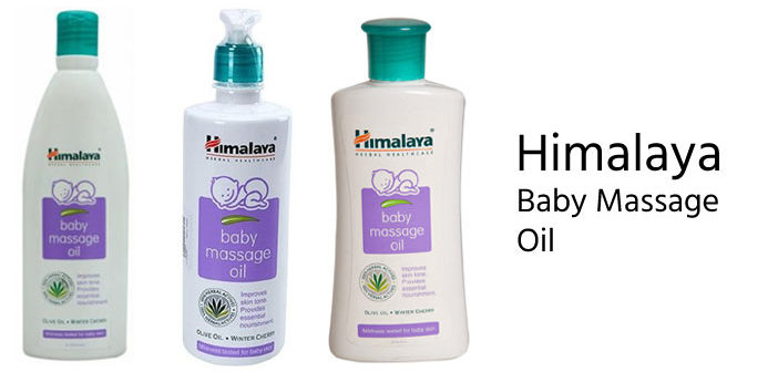 Top 5 Baby Massage Oil Brands In India