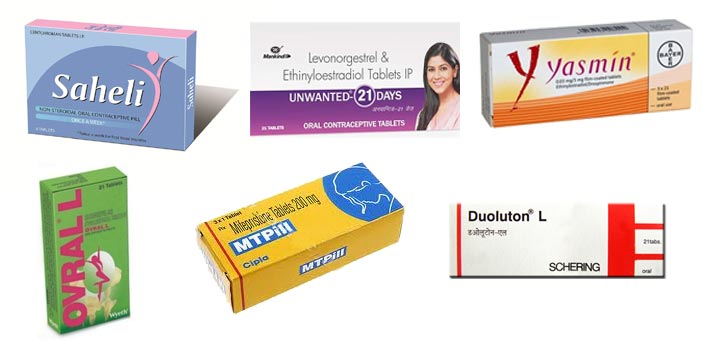 8 Oral Contraceptive Birth Control Pills In India Prices Side