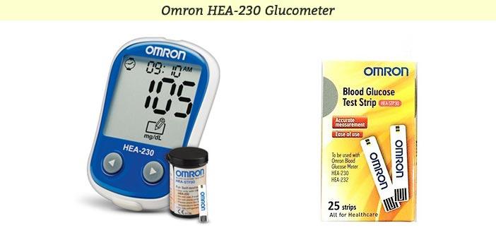 Omron HEA 230 Glucometer
